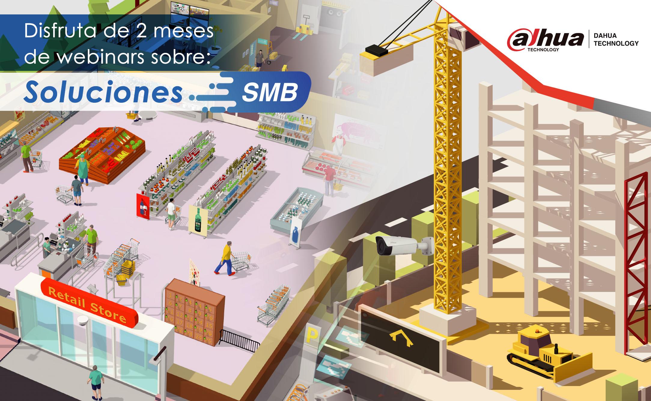 Calendario de webinars SMB de Dahua Academy México