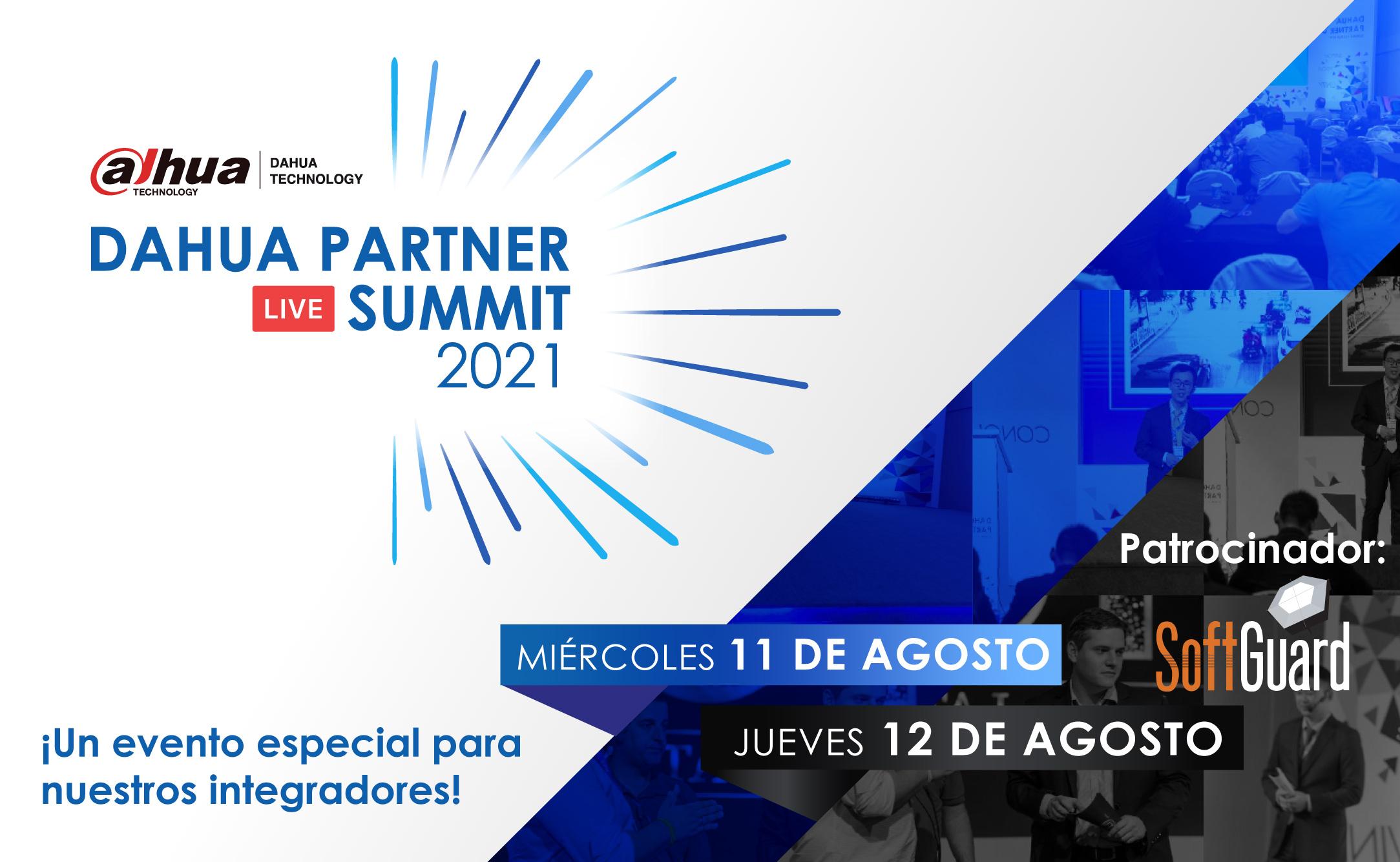 Dahua Partner Summit 2021, un evento para nuestros integradores.