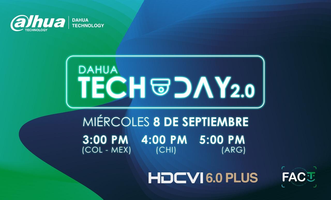 #DahuaTechDay 2.0 > Conoce más de HDCVI 6.0 Plus y FACT