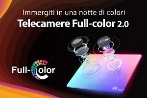 Telecamere IP Full-color 2.0: immergiti in una notte di colori