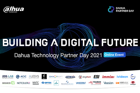 Let's Build a Digital Future Together: Join us at Dahua Partner Day 2021!