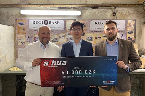 Dahua Technology Handed Over Donation To Help Czech Veterans