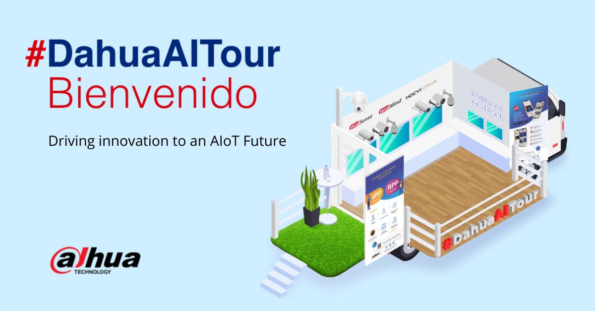 """Dahua inaugurará su """"Dahua AI Tour"""", su centro de innovación móvil"""